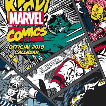 Calendar 2019  Marvel Comics