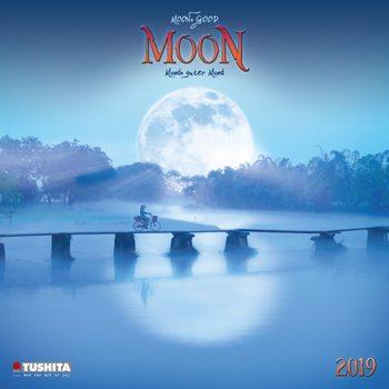 Calendar 2019  Moon, Good Moon