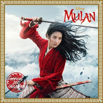 Calendar 2021 Mulan