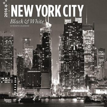 Calendar 2018  New York - Black & White