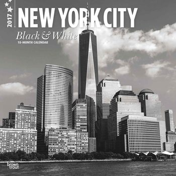 Calendar 2019  New York - Black & White