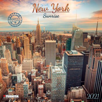 Calendar 2021 New York Sunrise