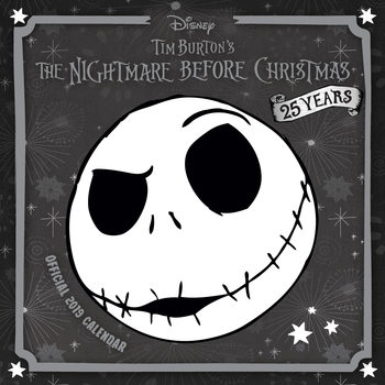 Calendar 2019  Nightmare Before Christmas
