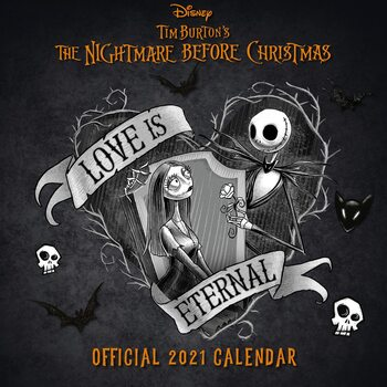 Calendar 2021 Nightmare Before Christmas