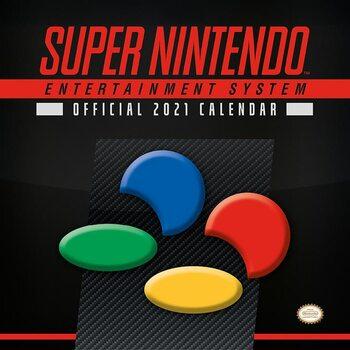 Calendar 2021 Nintendo - SNES