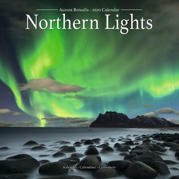 Calendar 2020  Northern Lights