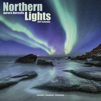 Calendar 2021 Northern Lights