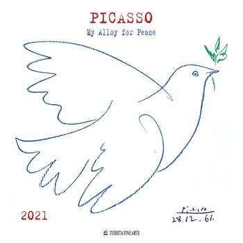Calendar 2021 Pablo Picasso - My Alloy For Peace