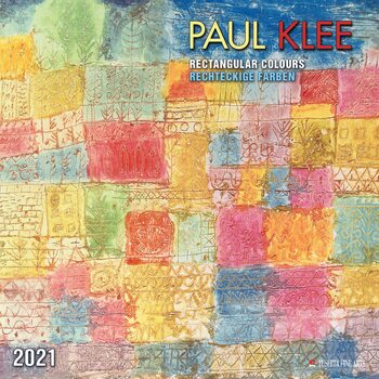 Calendar 2021 Paul Klee - Rectangular Colours