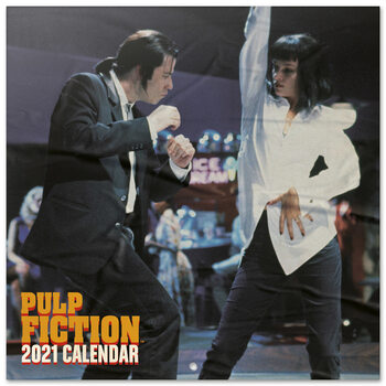 Calendar 2021 Pulp Fiction