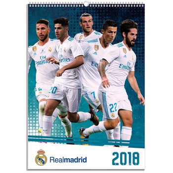 Calendar 2018 Real Madrid