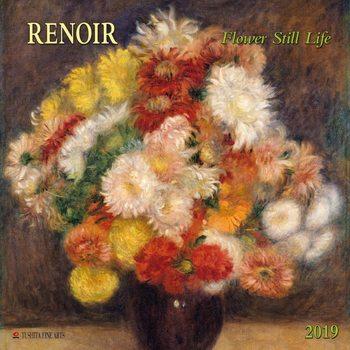 Calendar 2019  Renoir - Flowers still Life