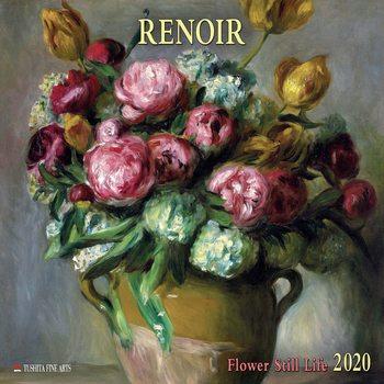 Calendar 2020  Renoir - Flowers still Life