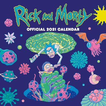Calendar 2021 Rick & Morty