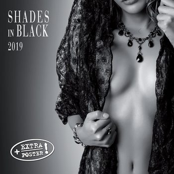 Calendar 2019  Shades of Black
