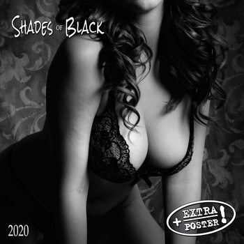 Calendar 2020  Shades of Black