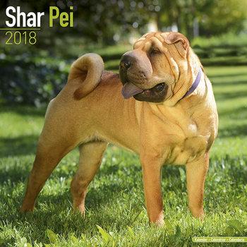 Calendar 2018 Shar Pei
