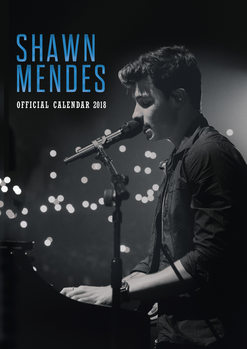 Calendar 2018 Shawn Mendes