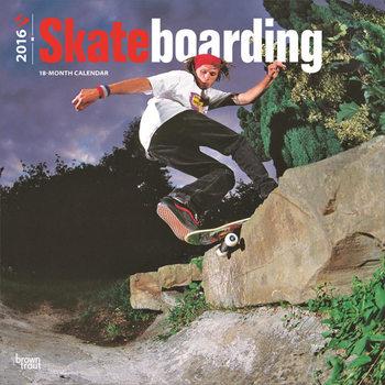 Calendar 2017 Skateboarding