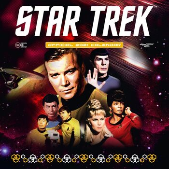 Calendar 2021 Star Trek - TV series - Classic