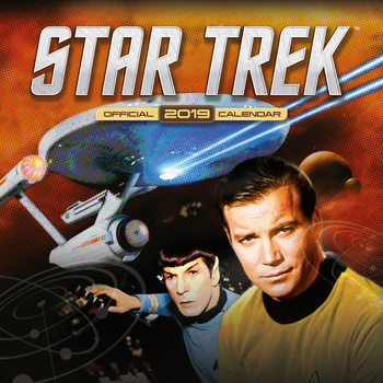 Calendar 2019  Star Trek - Tv Series