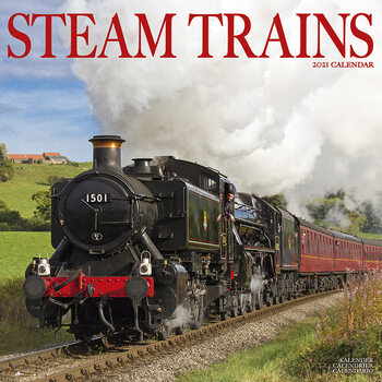 Calendar 2021 Steam Trains