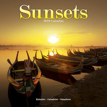 Calendar 2019  Sunsets