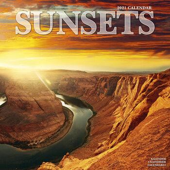 Calendar 2021 Sunsets