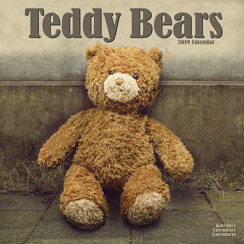 Calendar 2019  Teddy Bears
