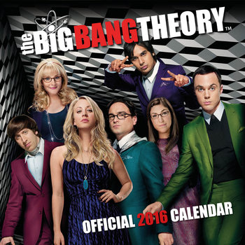 Calendar 2019  The Big Bang Theory
