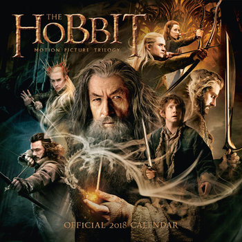 Calendar 2018 The Hobbit