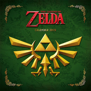Calendar 2019  The Legend Of Zelda