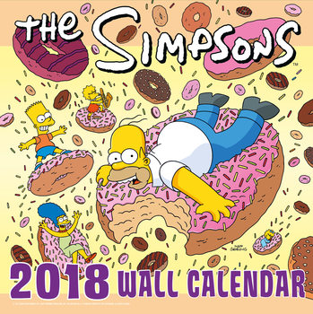 Calendar 2018 The Simpsons