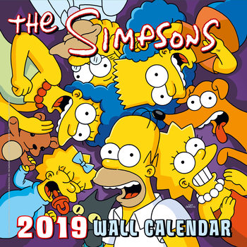 Calendar 2019  The Simpsons