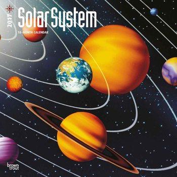 Calendar 2019  The Solar System
