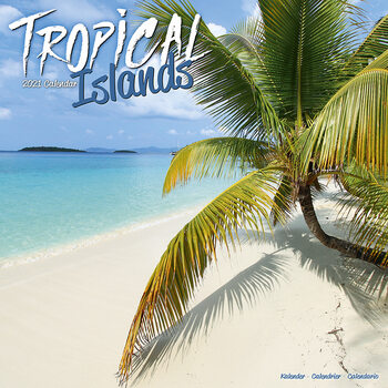 Calendar 2021 Tropical Islands