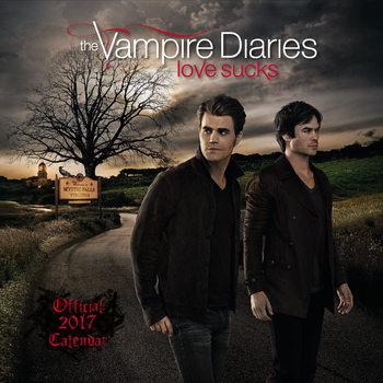 Calendar 2017 Vampire diaries