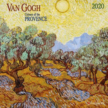 Calendar 2020  Van Gogh - Colours of the Provence