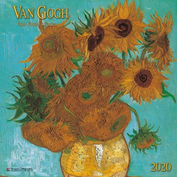 Calendar 2020  Van Gogh - From Vincent´s Garden