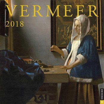 Calendar 2018 Vermeer