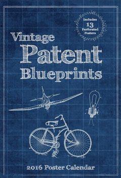 Calendar 2021 Vintage Patent Blueprints