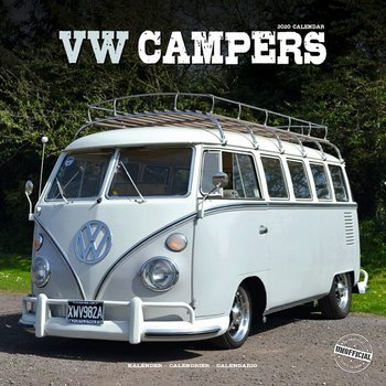 Calendar 2020  VW Camper Vans
