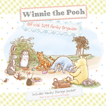 Calendar 2019  Winnie The Pooh – Organiser