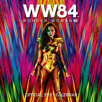 Calendar 2021 Wonder Woman - Movie