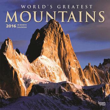 Calendar 2018  Worlds Greatest Mountains