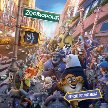 Calendar 2017 Zootroplis