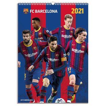 Calendário 2021 Barcelona