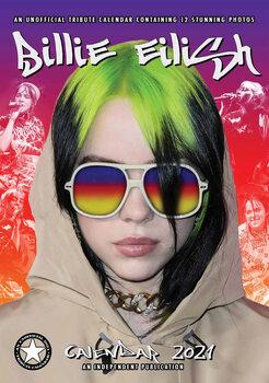 Calendário 2021 Billie Eilish