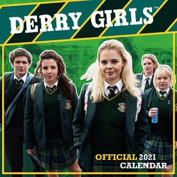 Calendário 2021 Derry Girls