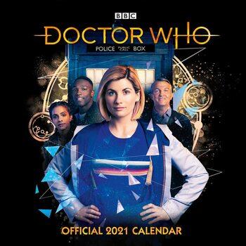 Calendário 2021 Doctor Who - The 13Th Doctor